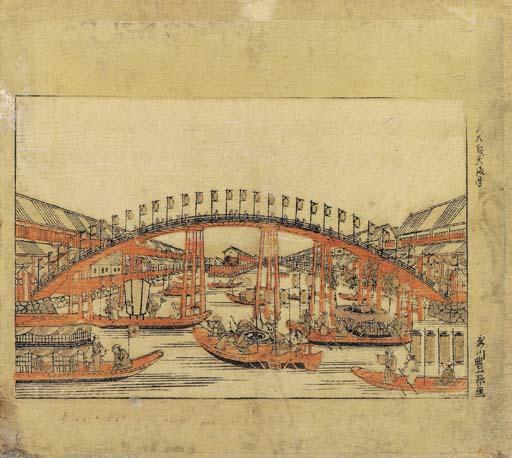 Utagawa Toyoharu (1735-1814) T
