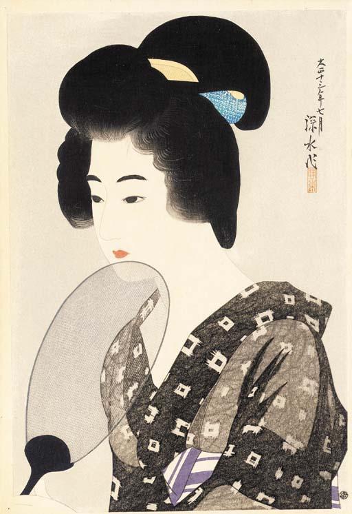 Ito Shinsui (1898-1972) Hirano