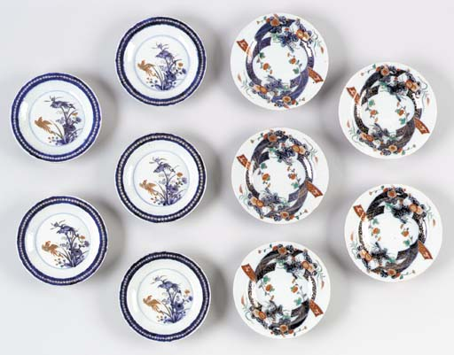 Two Sets of Porcelain Dishes