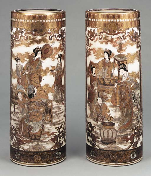 A Pair of Large Earthenware Va