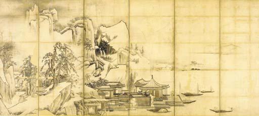 Unkoku School (17th Century)