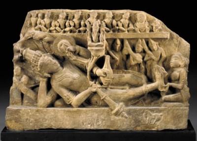 A Sandstone Figure of Vishnu A