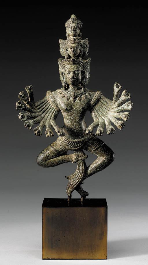 A Bronze Figure of Hevajra