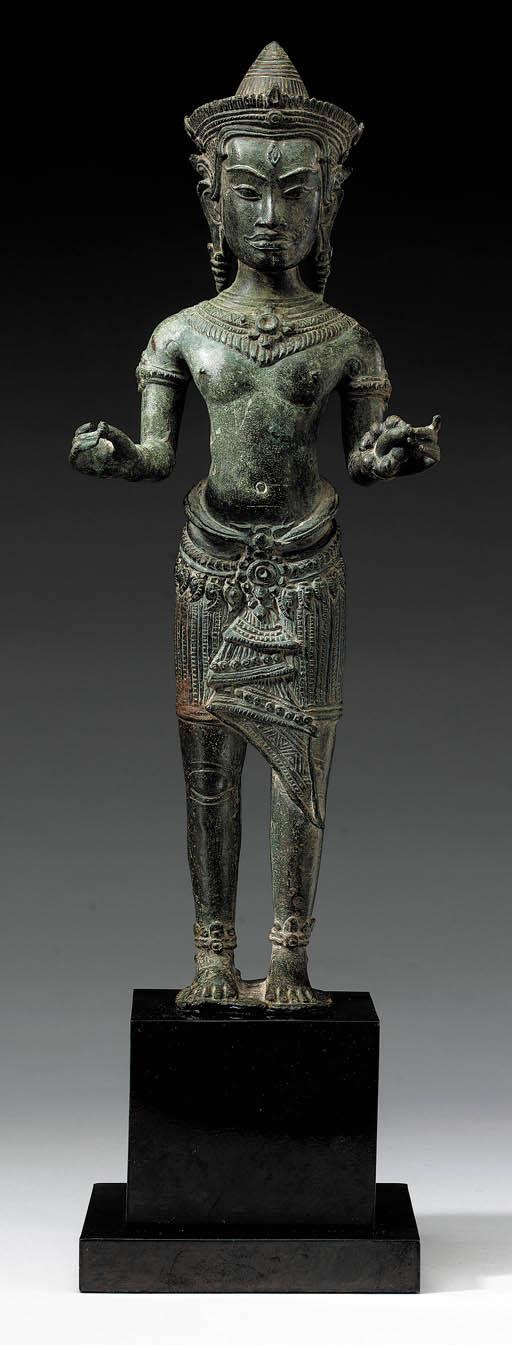 A Bronze Figure of Avalokitesh