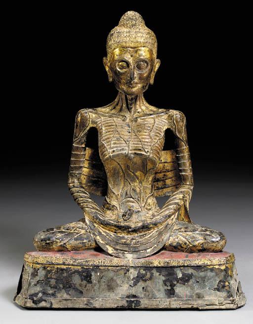 A Rare Bronze Figure of an Ema
