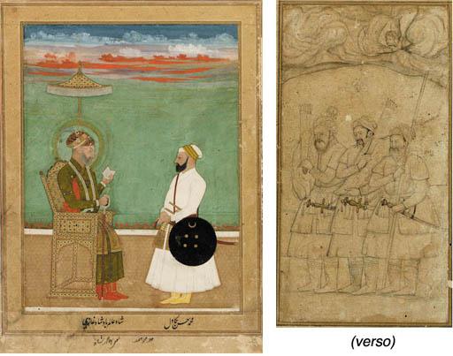 A Portrait of Shah'alan Bahadu