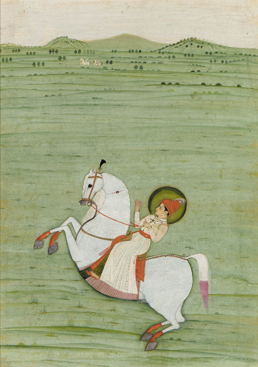 A Painting of a Prince on Horseback