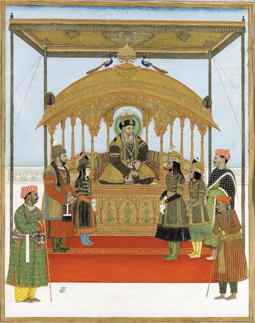 Delhi Darbar of Akbar II (r. 1