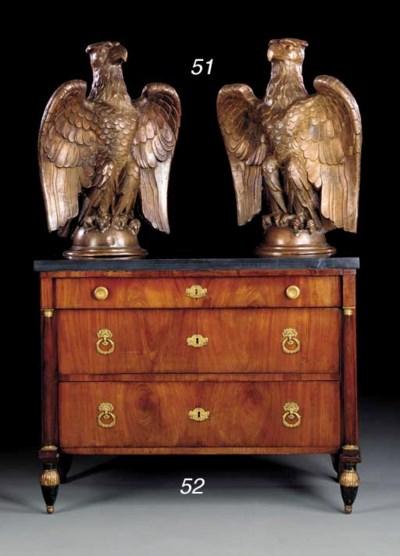 A PAIR OF COPPER EAGLES