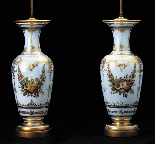 A PAIR OF FRENCH GILT AND POLY