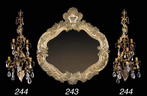 A SPANISH ROCOCO VARNISHED AND