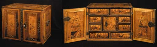 A GERMAN BAROQUE FRUITWOOD, SY