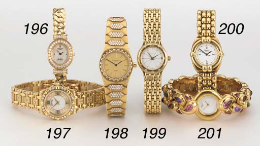 Chopard. A lady's 18K gold and