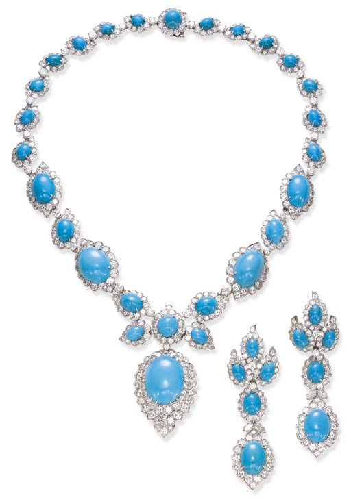 AN ATTRACTIVE SUITE OF TURQUOI