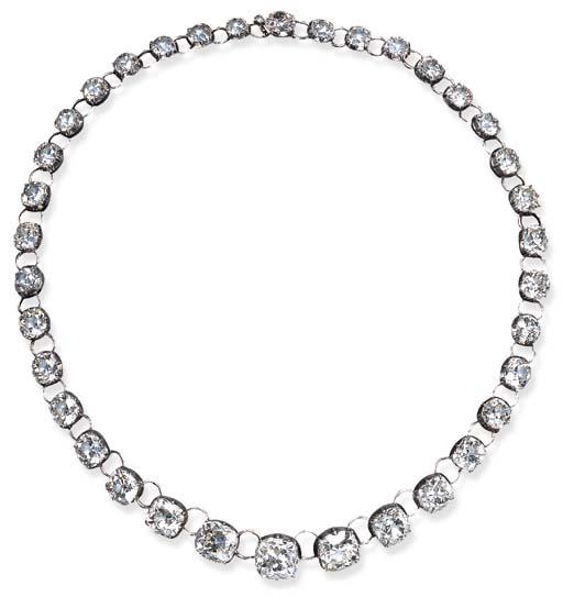 AN IMPORTANT ANTIQUE DIAMOND R