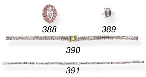 AN ELEGANT DIAMOND LINE BRACEL