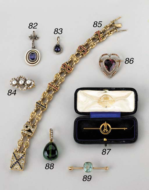 A JEWELLED AND GOLD HARDSTONE