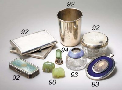 A GROUP OF ITEMS INCLUDING A S