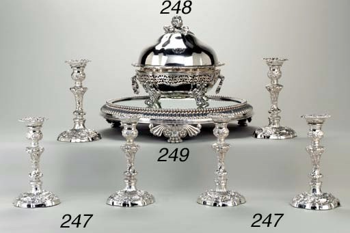 A William IV silver entree dis