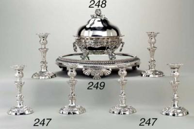 A William IV silver entree dis