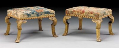 A PAIR OF GEORGE I STYLE OIL-G