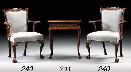 A PAIR OF GEORGE II PROVINCIAL