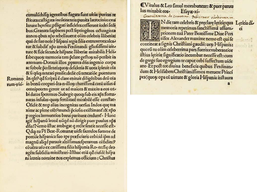 CARVAJAL, Bernardinus (1455/56