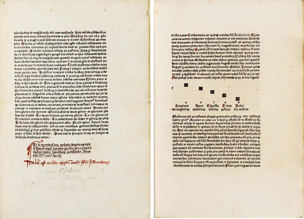 GERSON, Johannes (1363-1429).