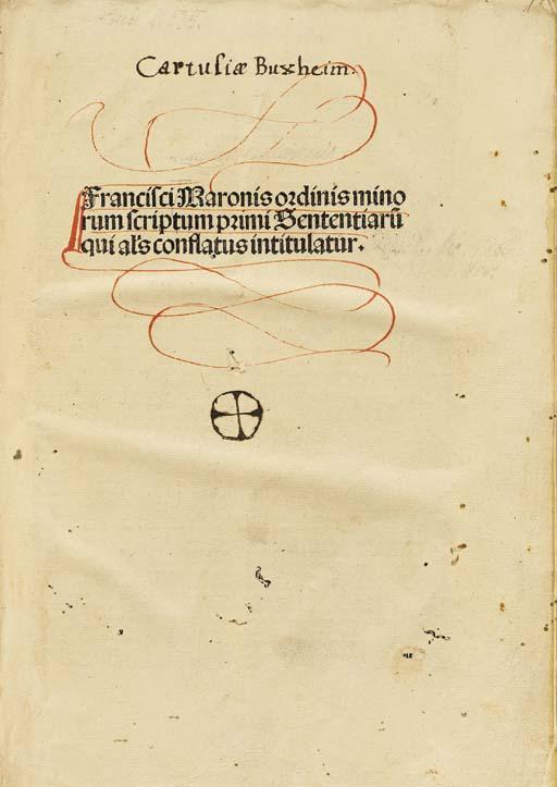MAIORANIS, Franciscus de (1288