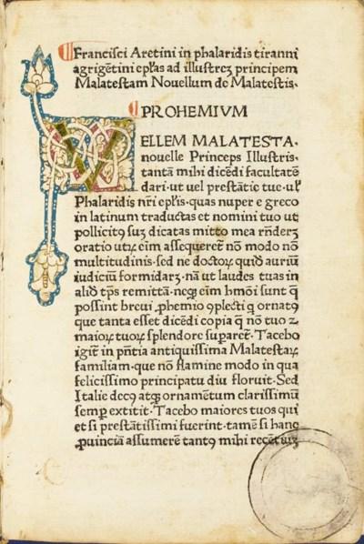PHALARIS (pseudo-).  Epistolae