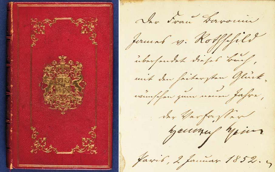 Verarbeitung finden bestbewerteter Beamter großer Rabatt HEINE, Heinrich (1797-1856). Romanzero. Hamburg: Hoffmann ...