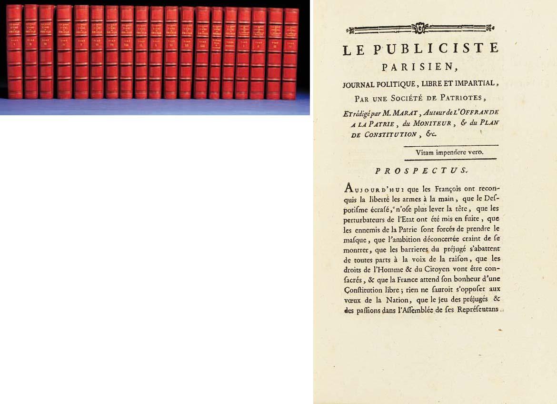 MARAT, Jean Paul (1743-1793).