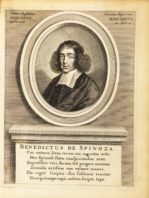 SPINOZA, Baruch (later Benedic