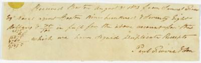 REVERE, Paul (1735-1818), Amer