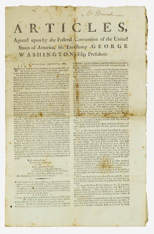 [UNITED STATES, CONSTITUTION].