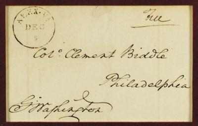 WASHINGTON, George. Autograph
