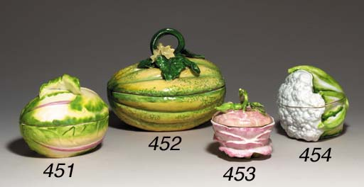 A CHELSEA MELON TUREEN AND COV