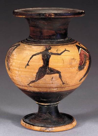 AN EAST GREEK BLACK-FIGURED LY