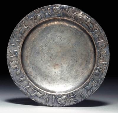 A ROMAN SILVER-PLATE DISH