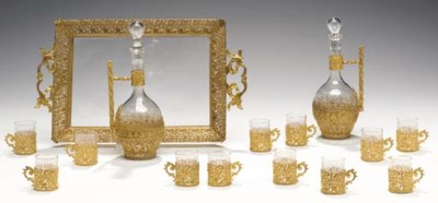 AN ORMOLU-MOUNTED FRENCH PART
