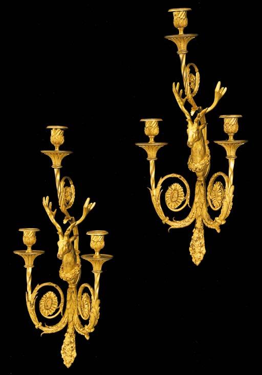 An unusual pair of Louis XVI s