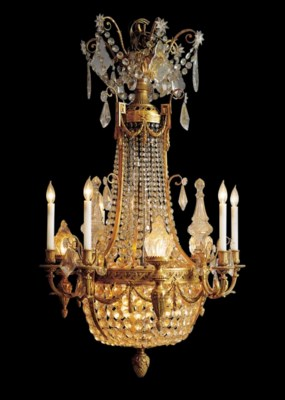 A Neoclassic style ormolu and