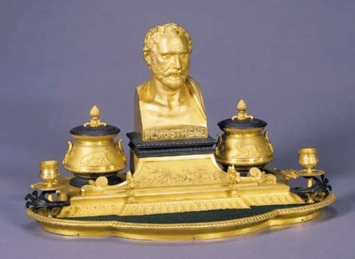 A French Neo-Grec ormolu and p