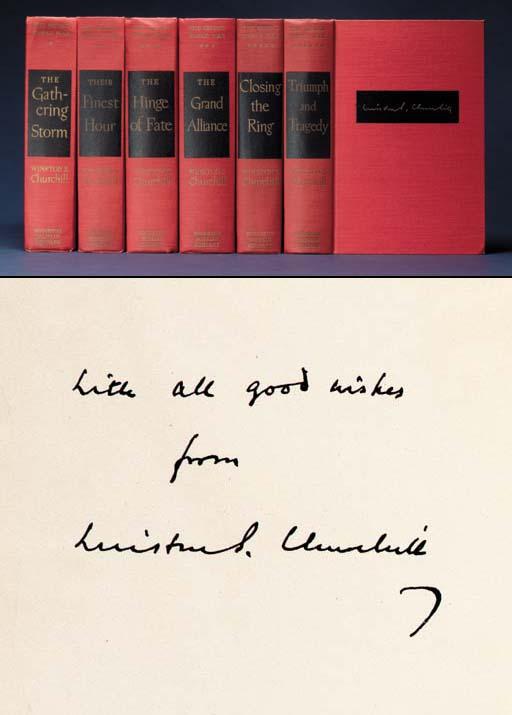 CHURCHILL, Winston S. The Seco