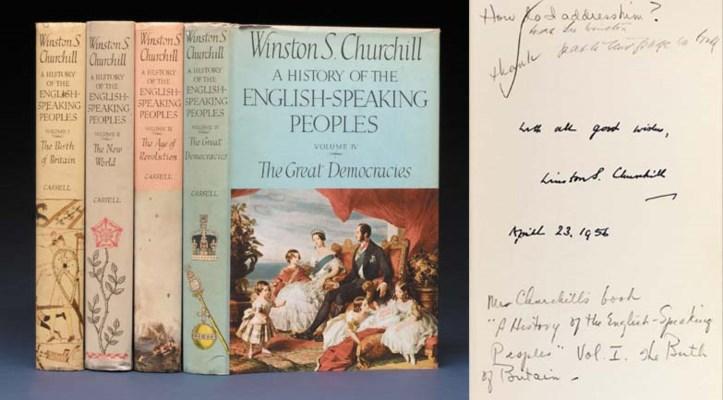 CHURCHILL, Winston S. (1874-19