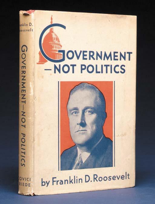 ROOSEVELT, Franklin. Governmen