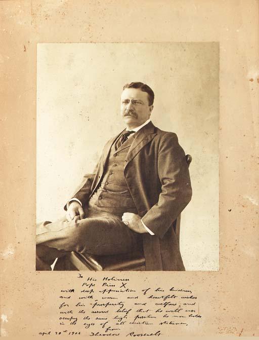 ROOSEVELT, Theodore (1858-1909