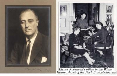 ROOSEVELT, Franklin D.  Portra