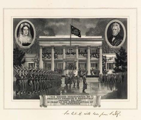 ROOSEVELT, Franklin D. Print c