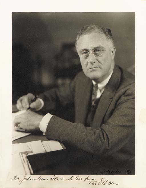 ROOSEVELT, Franklin D. Photogr